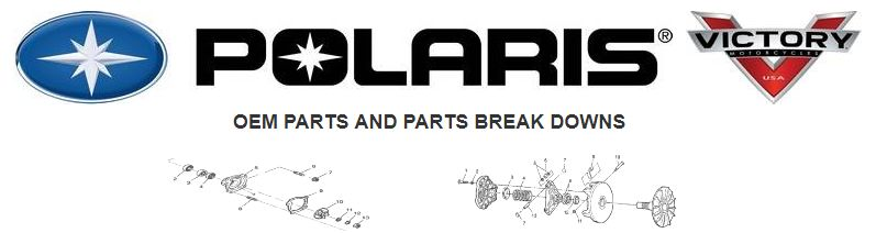 Polaris OEM parts and breakdowns